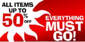 everything must go vinyl banner template