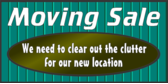 moving sale banner template