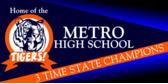 School Pride Spirit Banner Design