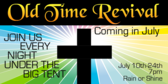 church revival old time