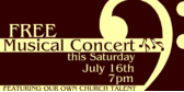 church concert congragation talent