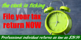 File Your Tax Return Now