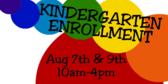 More School Kindergarten Sign