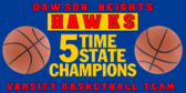 basketball State Champs Banner Design
