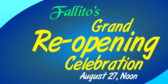 Restaurant Grand Re Opening Banner