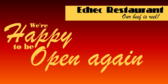 Happy Opening Again Banner