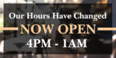 open hours signs