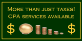 Business Tax Banners