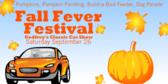 Fall Fever Festival Sign