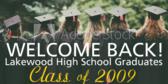 Welcome Class reunion Sign