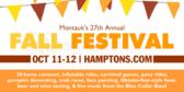 Annual Autumn Festival Sign