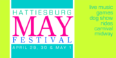 May Festival Sign