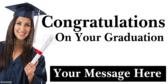 Daughter Graduating Sign