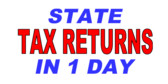 1 Day Tax Refund Template
