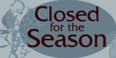 closed for season banner template