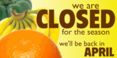 closing banner template