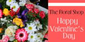 floral company valentines message