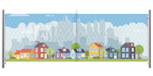 5x12 Cityscape Graphic