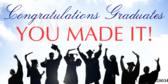 You Made It College Graduation Banner