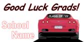 Good Luck Grads Sign