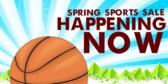 Spring Sports Sale Banner