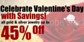 Valentines Day Jewerly Special