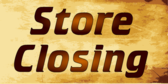 store closing sale yard sign template