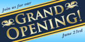 Join Us For Our Grand Opening Template