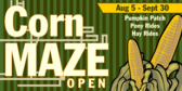 Corn Fields and Mazes Design 5