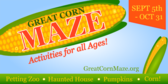 Corn Fields and Mazes Design 7