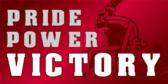 Pride Power Victory Banner Design