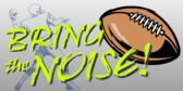 Bring The Noise Stadium Banner Design