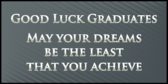 College Graduation Achievement Banner