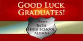 Good Luck Graduates Sign