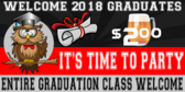 Graduation Beer Party Banner