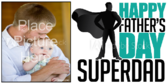 Super Dad Fathers Day Banner