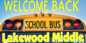 Welcome Middle School Students Sign