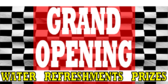 Checkerboard Grand Opening Dealer Banner