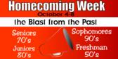 spirit week homecoming sign