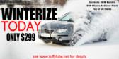 Winterize Service Banner