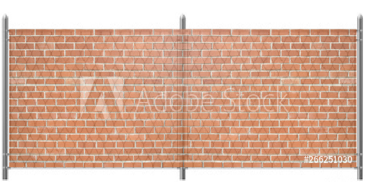 5x12 Red Brick Graphic