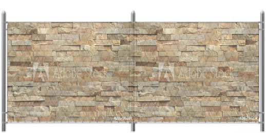 5x12 Fieldstone Graphic