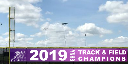 5x50 Track & Field Team Announcement Fence Banner