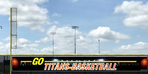 5x50 Go Team Basketball Fence Banner