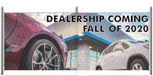5x12 Auto Dealer Graphic