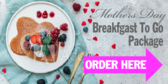 Mother's Day Breakfast To Go Banner