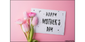 Happy Mothers Day Tulips Yard Sign