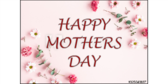 Happy Mothers Day Flowers Collage Yard Sign