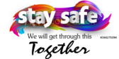 COVID-19 Stay Safe School Banner