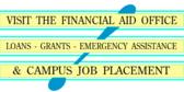 Financial Aid Signs